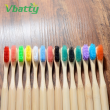 1pc Hot Sale Wholesale Bamboo Private Label Toothbrush