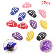Lotusflower 2pcs New Design Golf Accessories 6 Color Golf Ball Marker Liner Golf Marker Clip Hats Clips Ball marker