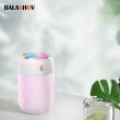 330ML Air Humidifier Ultrasonic LED Lamp USB Mini Essential Oil Diffuser With Romantic Ligh Car Purifier Aroma Anion Mist Maker