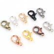 10x5mm/12x6mm/14x7mm/16x8mm  9 Colors Plated Fashion Jewelry Findings,Alloy Lobster Clasp Hooks for Necklace&Bracelet Chain DIY