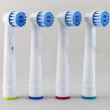 4pcs/pack Electric Toothbrush Heads Brush Heads Replacement for Oral Hygiene B Sensitive EBS-17A For Family Health Use