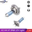 H1 H4 H7 H8/H9/H11 9005 9006 55W Halogen Headlights Light Bubls For Car 6000K White Waterproof DC 12V High/Low Beam Auto Lamps