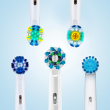 Oral B Electric Toothbrush Heads Replaceable Brush Heads For Oral B Electric Advance Pro Health Triumph 3D Excel Vitality 4pcs