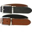 Rawlings Reversible Leather Belt, Black/Tan, 40
