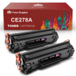 2 Multi-Pack CE278A 78A Toner Cartridge for HP LaserJet M1536dnf P1606dn Printer