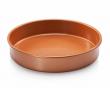 """Gotham Steel Bakeware - Nonstick Round 9.5"""" Copper Baking Cake Tin"""