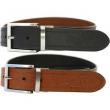 Rawlings Reversible Leather Belt, Black/Tan, 36