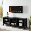 """Classicflame 42HF200CGT-CF 42"""" Wall-Mounted Infrared Electric Fireplace Heater"""