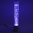 Home Decor Gifts Desk Table Fish Tank Lamp LED Light Bubbles Color Changing