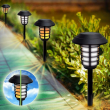 Bell + Howell Outdoor Solar Powered 2-in-1 Pathway and Garden Lights - 8 Pack
