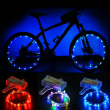 LED Bicycle Bike Cycling Rim Lights Auto Open & Close Wheel Spoke Light String