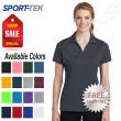 Sport Tek Womens 100% Polyester Dri-Fit Performance Polo  Golf Shirt M-LST640
