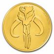 2020 Niue 1 oz Gold $250 Star Wars: Mandalorian Mythosaur BU