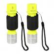 2PCS Diving Underwater 5000LM 50M Waterproof Lamp T6 LED Scuba Torch Flashlight