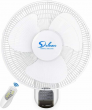 Simple Deluxe 16'' Quiet Digital Wall Mount Oscillating Exhaust Fan with Remote
