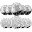 Lot of 10 - 2021 Armenia 1 oz Noah's Ark Silver Coin 500 Drams .999 Fine BU