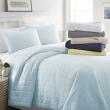 Linen Market Ultra Soft Hypoallergenic Quilted 3 Piece Coverlet Set - 3 Designs