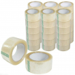 Packing Tape 36 Rolls 110 Yards 2 Mil (330 ft) Clear Carton Sealing Tapes