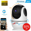 1080P HD Camera Wi-Fi CCTV Baby Monitor Wirelss Security Pan/Tilt Smart Home 32G
