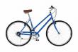 Vilano Step Through City Bike 7 Speed Hybrid Urban Retro Commuter For Adults