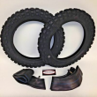 Yamaha PW 50 Front and Rear Tires & Tubes 2.50x10 PW50 TTR50