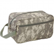 """11"""" TOILETRIES BAG Green ACU Camo Travel Water Resistant Mens Toiletry Shave Kit"""