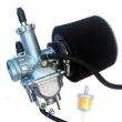 New Carburetor for KAWASAKI Bayou 220 KLF220A KLF220 With air filter fuel filter