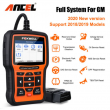 For GM CHEVROLET GMC Diagnostic Scanner ABS SRS DPF BMS Scan Foxwell NT510 Elite
