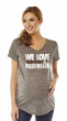 Soft As A Grape NFL Womens Maternity V-Neck Short Sleeve Tee *MOST TEAMS&SIZES*