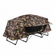 Folding Single Camping Tent Cot Portable Outdoor Hiking Bed Rain Fly Camo