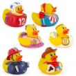 Munchkin Rubber Ducky Bath Toy Won't Sink No Mildew Senses Baby Bathwater Temp