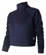 New Balance Women's NB Athletics Select Track Pullover Navy