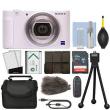 Sony ZV-1 20.1MP Digital Camera 4K Video White + 16GB Kit