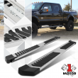 """Chrome Running Board 6"""" Side Step Nerf Bar for 99-16 Ford Super Duty SD Ext Cab"""