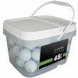 48 Titleist Pro V1 2019 Near Mint Quality Used Golf Balls AAAA In a Free Bucket!