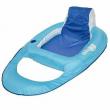 SwimWays 6038971 Spring Float Inflatable Vinyl Adult Recliner Pool Lounger, Blue