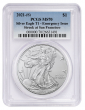 Presale - 2021 (S) Silver Eagle PCGS MS70 Emergency Issue - Blue Label