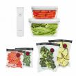 ZWILLING Fresh & Save Vacuum Sealer Machine Starter Set, Sous Vide Bags, Meal