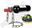 BarBinge Wine Bottle Holder Magic Floating Metal Chain Rack & Display Stand