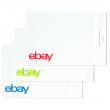"eBay-Branded Polymailer Red Green & Blue 14.5"" x 18.5"" (No padding)"