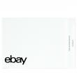 "eBay-Branded Polymailer With Black Print 14.5"" x 18.5"" (No padding)"