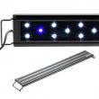 """AQUANEAT Aquarium LED Light 24"""" 0.5W Blue & White Marine FOWLR"""