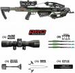 KILLER INSTINCT BOSS 405 Illuminated Scope Package FREE PADDED DLX SLING!!