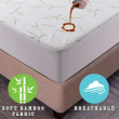 Bamboo Mattress Protector Hypoallergenic & Breathable Waterproof Mattress Cover