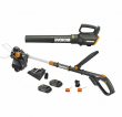 WORX WG930.2 20V GT Revolution Trimmer & Turbine Blower + Dual Port charger