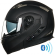 ILM Bluetooth Integrated Modular Flip Up Motorcycle Helmet with MP3 Intercom DOT