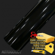 "24"" x 60"" Gloss Black Vinyl Film Wrap Sticker Decal Air Bubble Free 2ft x 5ft"