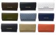 Michael Kors Jet Set Travel Large Trifold Leather/PVC Wallet
