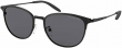 MICHAEL KORS CADEN POLARIZED Sunglasses MK1059 120281 Black W/ Solid Dark Grey