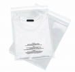 Poly Bags Resealable Suffocation Warning Clear Merchandise 1.5 mil Shirt Apparel